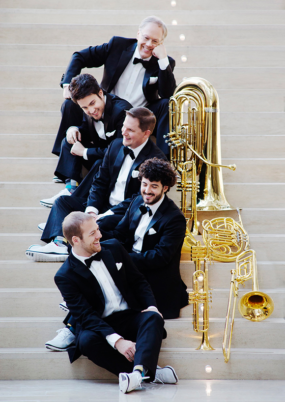 image of Canadian Brass performers