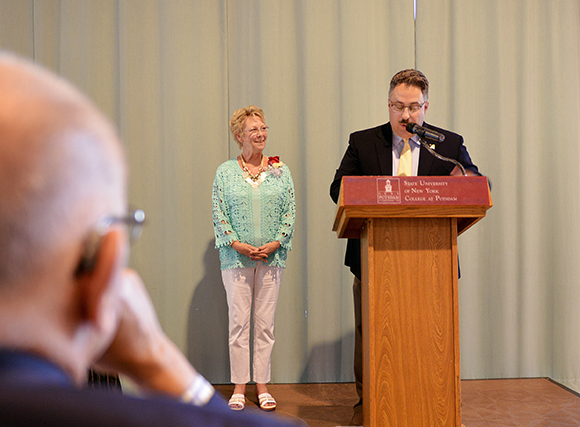 Photo of Carolyn Zwaga Alumni Honorary Alum recipient