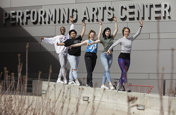 SUNY Potsdam Students Selected to Attend Prestigious American Dance Festival