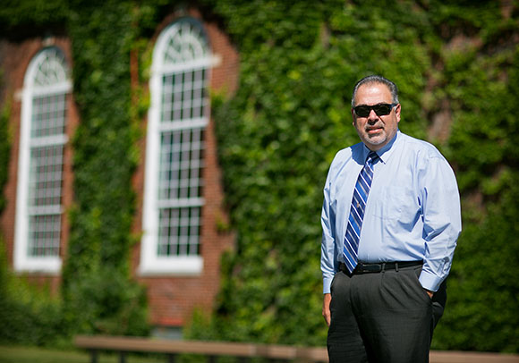 Image of College's new VP for Business Affairs J. Eric Johnston-Ortiz
