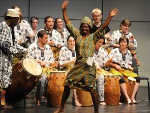 Gahu Dance Photo