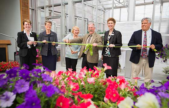Greenhouse Ribbon Cutting Image