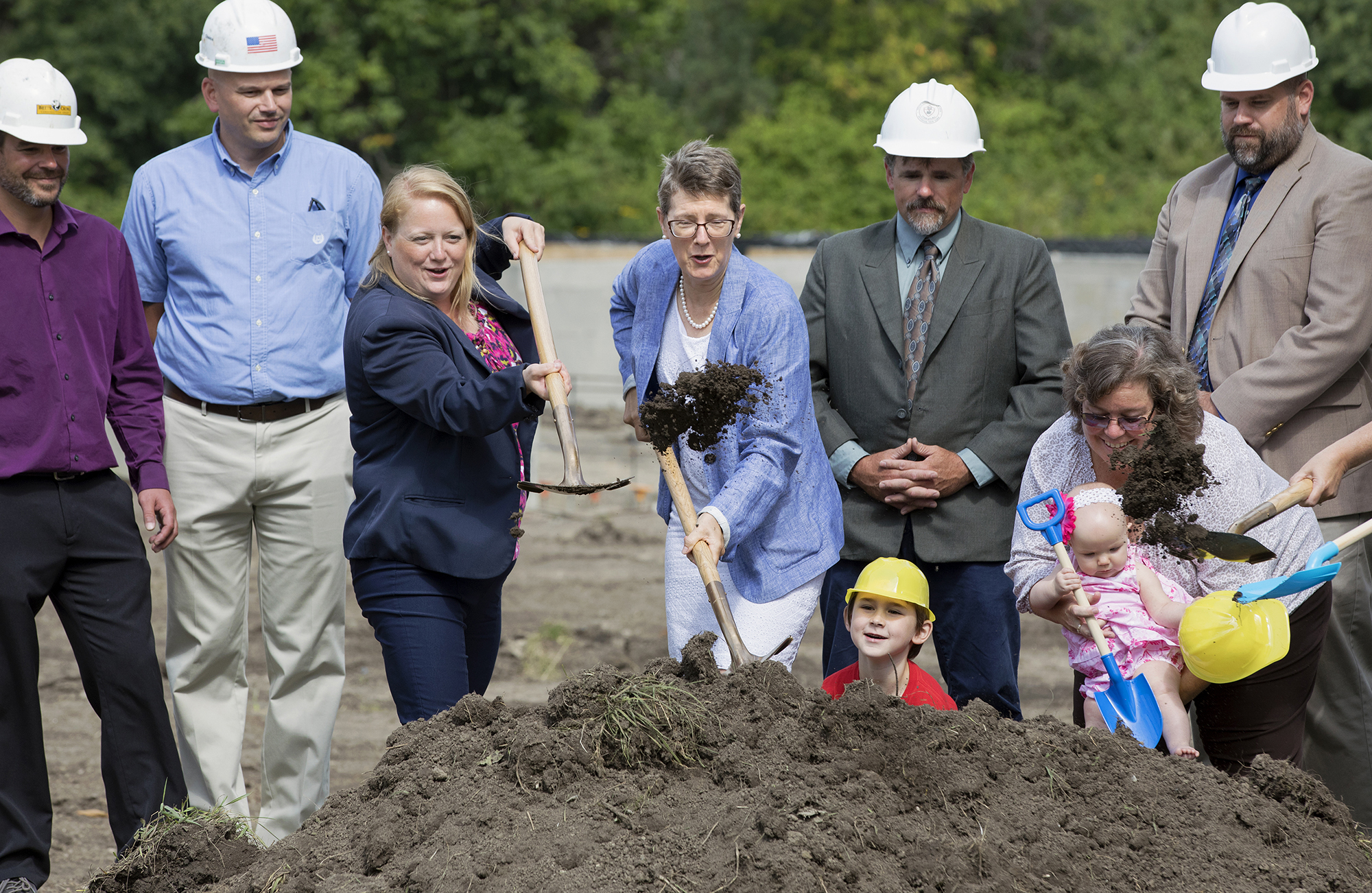 Ground Breaking Ceremony Photo