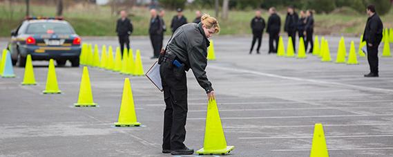 Law enforcement training photo