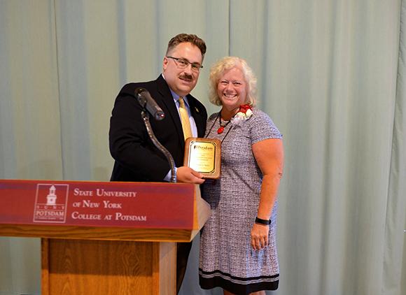 Photo of Maureen Taylor Alumni Honorary Alum Recipient