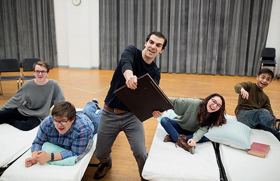 Photo of Ben Edquist from Tom Cipullo's new opera, Mayo