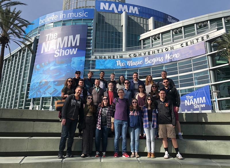 NAMM Show Photo