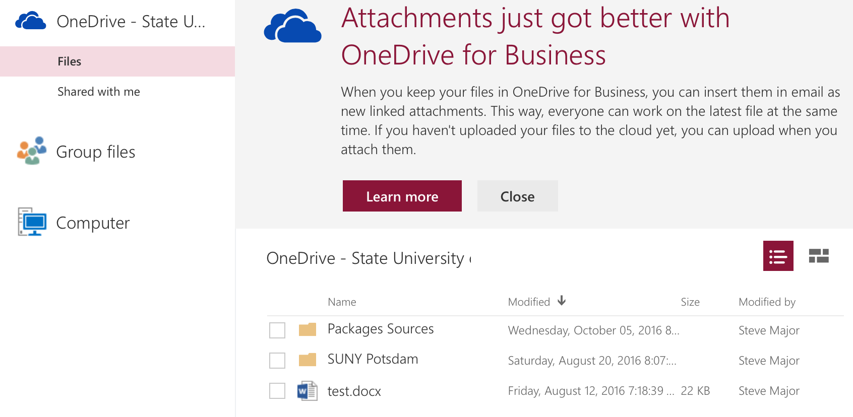 Office 365 File Attach Image