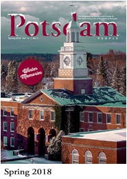 View the Spring 2018 issue of Potsdam People