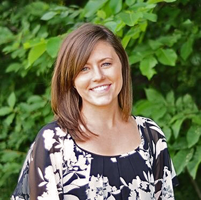 Photo of graduate and author Samantha Paige