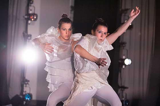 Photo of SUNY Potsdam dancers
