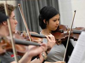 Violin Music Education Student Photo