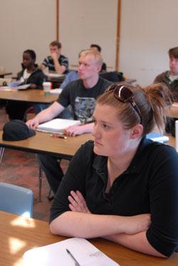 SUNY Potsdam Classroom