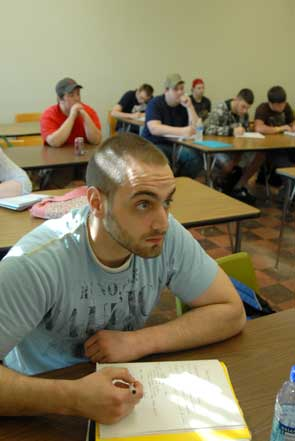 Sociology and Criminal Justic Classroom Photo