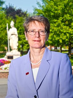 President, Dr. Kristin Esterberg