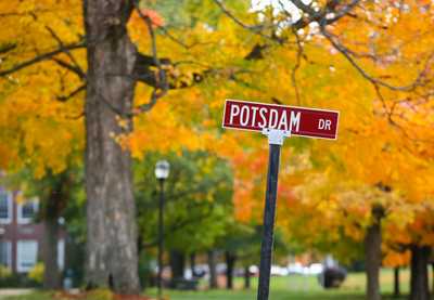 Potsdam Road sign photo