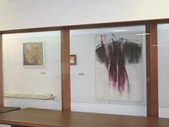 Dunn Hall Art Display