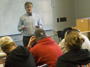Economics Lecture Photo