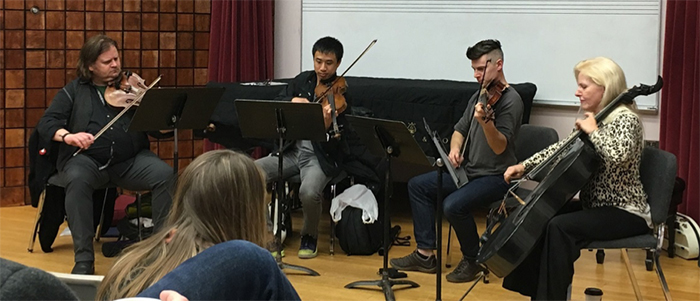 Ethel String Quartet Image