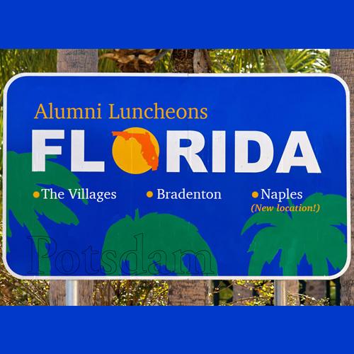 Florida Luncheon Postcard Image