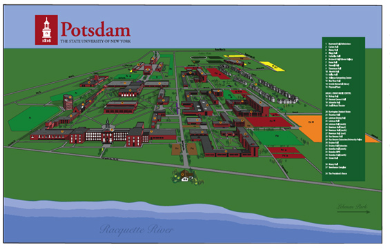 Location Suny Potsdam