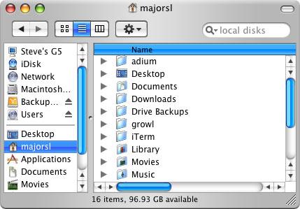 OS X Home
