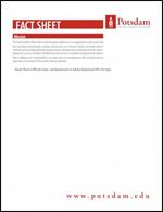 Fact Sheets | SUNY Potsdam