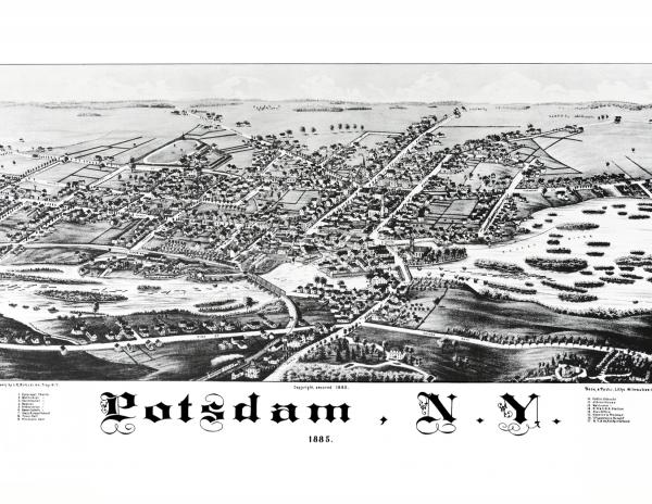 1885 Potsdam Panoramic