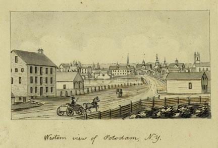 Old Potsdam Town Photo