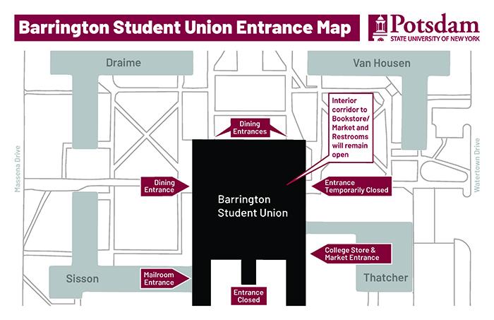 Barrington Construction Map Image