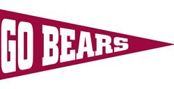 Go Bears Pennant