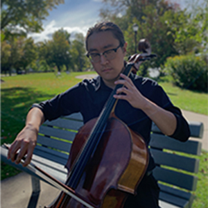 Cellist Jonathan Kim '20, a winner of the 2019 Crane Concerto Competition, will perform alongside the Crane Symphony Orchestra at its Oct. 9 performance.