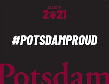 Potsdam Proud Sign