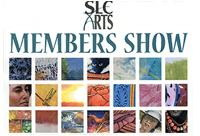 SLC Arts Member Show Poster Image 2015