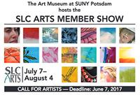 SLC Arts Member Show Poster 2017