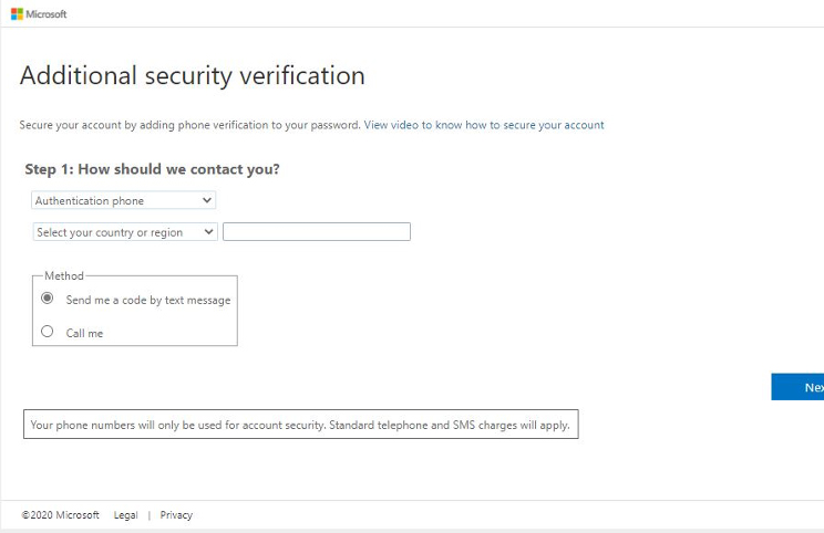 Security Verification Screenshot