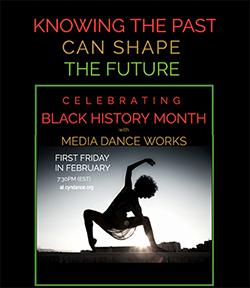 Black History Month Media Dance Works Image