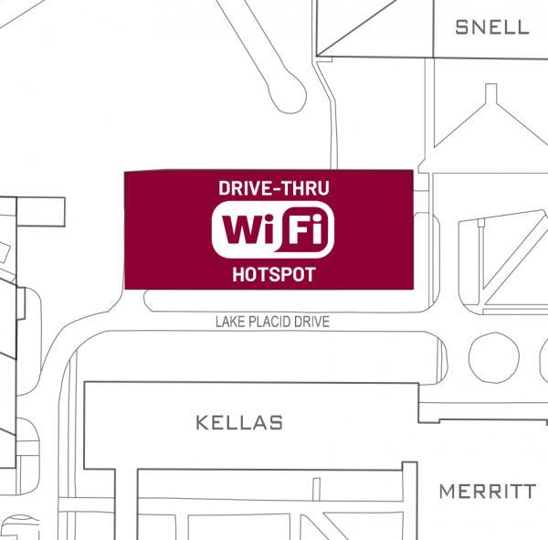 SUNY Potsdam Lot 6 is located near Kellas Hall