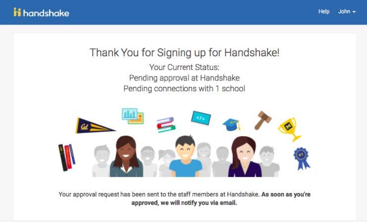 Handshake Instructions Step 9 Screenshot