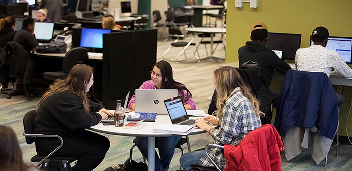 Lougheed Learning Commons Photo