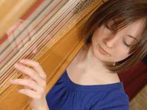 Music Performance Harp Student Photo