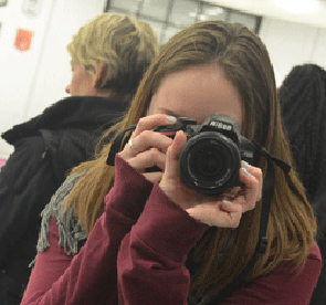 Student with Camera Picture