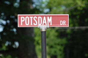 Potsdam Drive Street Sign Photo