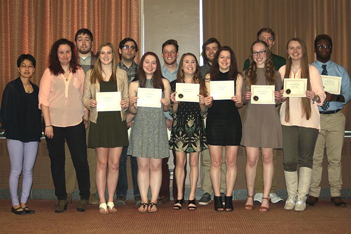 Pi Mu Epsilon Group Photo
