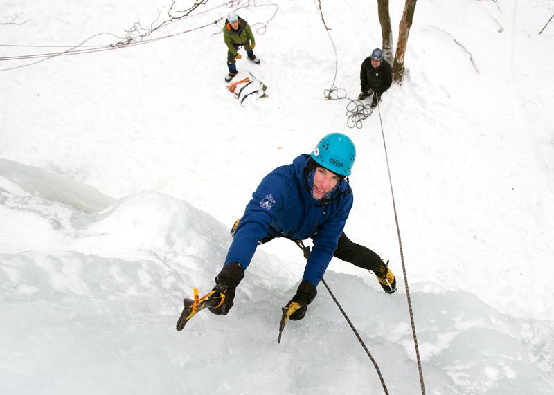 Raynor Ice Climbing
