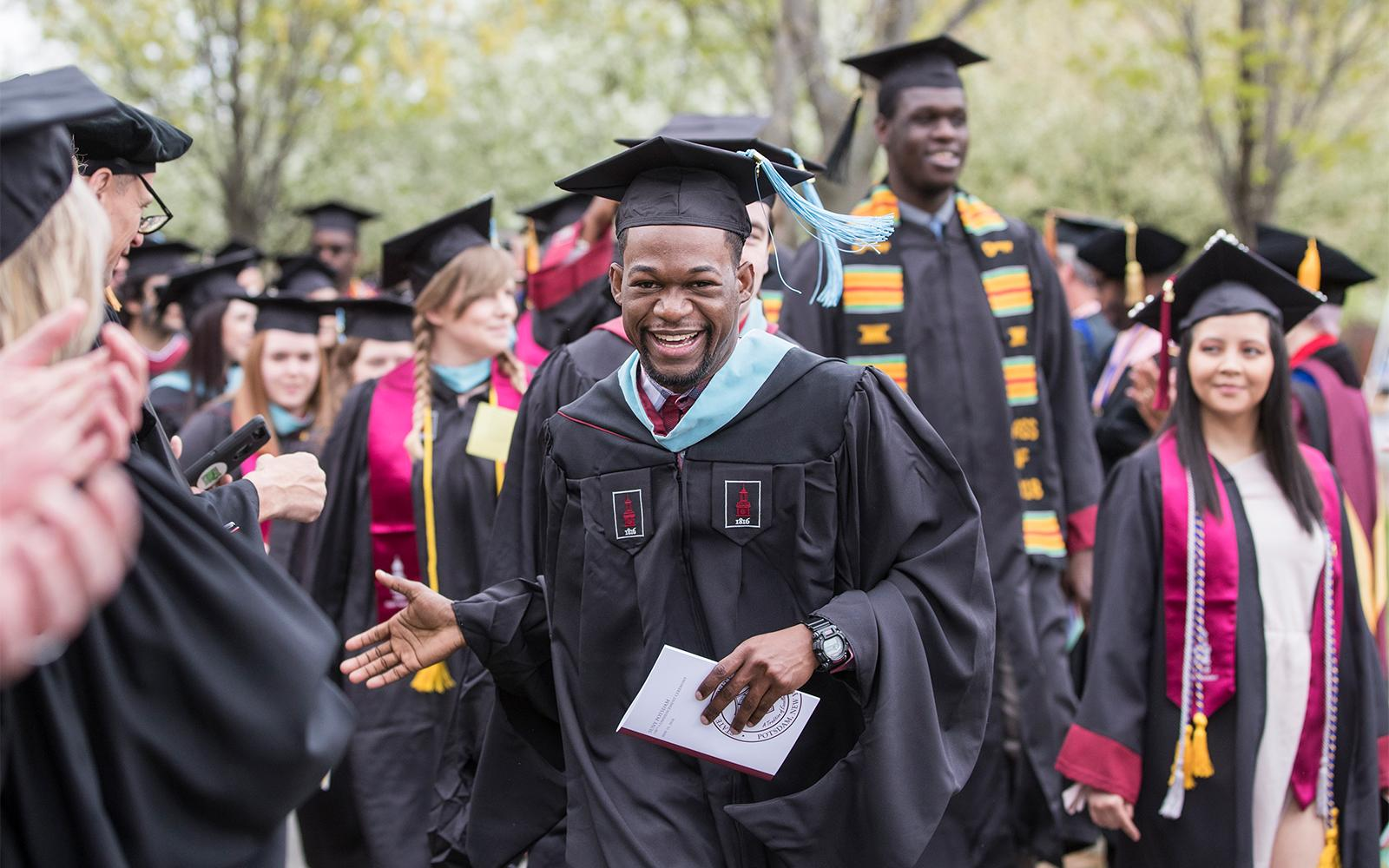 SUNY Potsdam Prepares to Celebrate Class of 2019 at Commencement