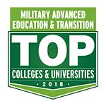Top College Military Logo