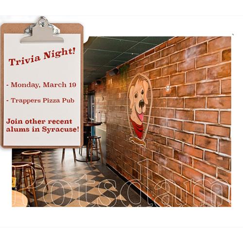 Triva Night Postcard Image