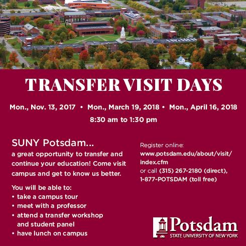 Transfer Visit Days Post Card
